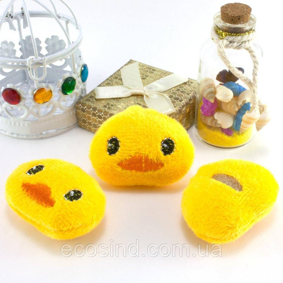 Плюшевая заготовка-игрушка  50х40 Уточка (сп7нг-0185)