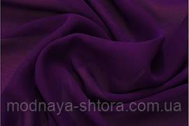 Шифон (вуаль) однотонный темно-фиолетовый