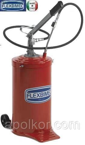 Передвижная установка для раздачи консистентных смазок емкостью 16 кг Flexbimec 5105