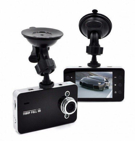 Цифровой автомобильный видеорегистратор DVR K6000 Full HD Vehicle BlackBox