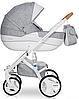 Детская универсальная коляска 2 в 1 Riko Brano Luxe 05 Grey Fox, фото 2