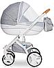 Детская универсальная коляска 2 в 1 Riko Brano Luxe 05 Grey Fox, фото 6