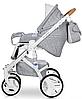 Детская универсальная коляска 2 в 1 Riko Brano Luxe 05 Grey Fox, фото 5