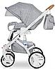Детская универсальная коляска 2 в 1 Riko Brano Luxe 05 Grey Fox, фото 7