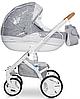 Детская универсальная коляска 2 в 1 Riko Brano Luxe 05 Grey Fox, фото 4