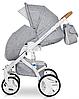 Детская универсальная коляска 2 в 1 Riko Brano Luxe 05 Grey Fox, фото 8
