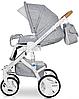 Детская универсальная коляска 2 в 1 Riko Brano Luxe 05 Grey Fox, фото 10