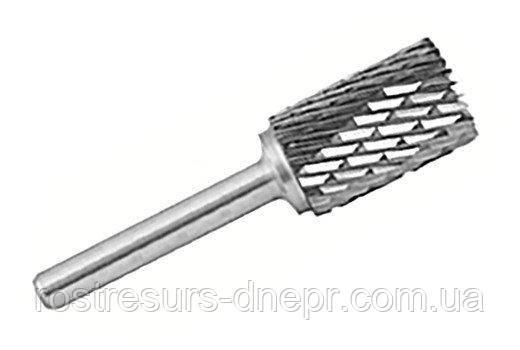 Борфреза твердосплавная цилиндрическая (тип А),  6  мм, хвостовик 6мм RUKO Германия