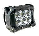 Дополнительная светодиодная фара рабочего света WL-410 18W EP6 SP KV, фото 2