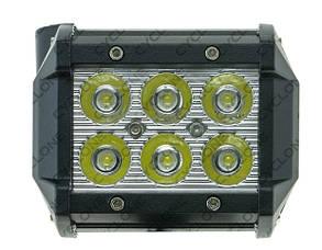 Дополнительная светодиодная фара рабочего света WL-410 18W EP6 SP KV