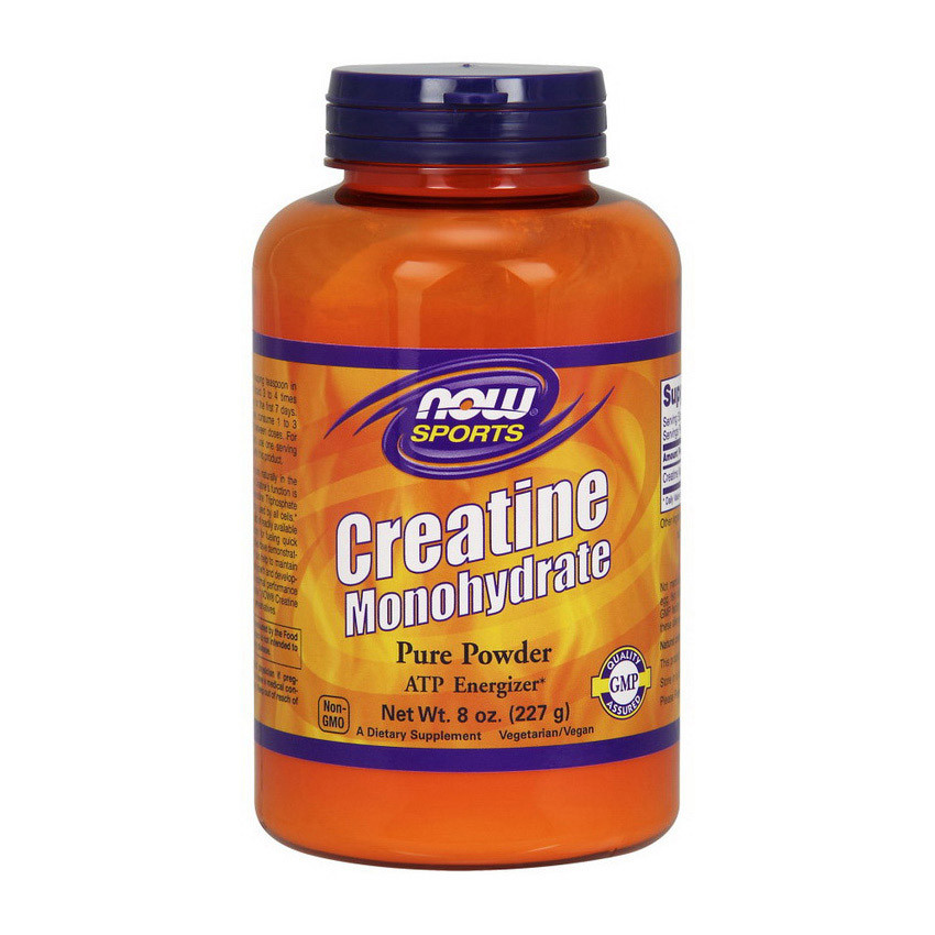 Creatine (227 g, unflavored) NOW