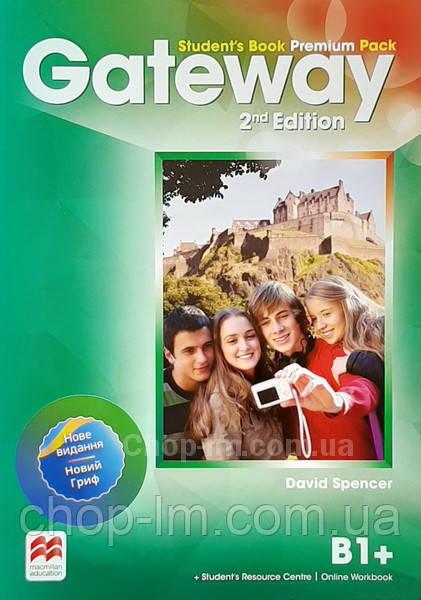 Gateway 2nd/Second Edition B1+ Student's Book Premium Pack (Edition for Ukraine) / Учебник