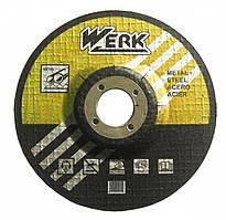 Круг зачистной Werk 115х6.3х22.23мм (34017) упаковка 5шт