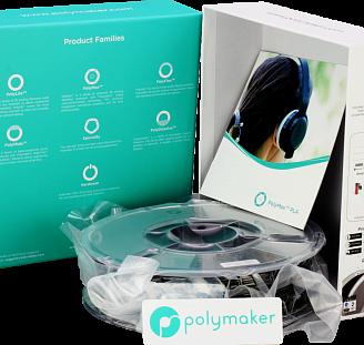 Пластик в котушці PLA PolyMax 1,75 мм, Polymaker, 1кг, фото 2