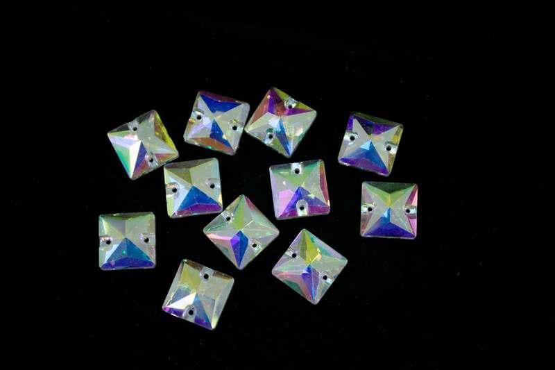 3240 14 Crystal AB (квадрат), шт