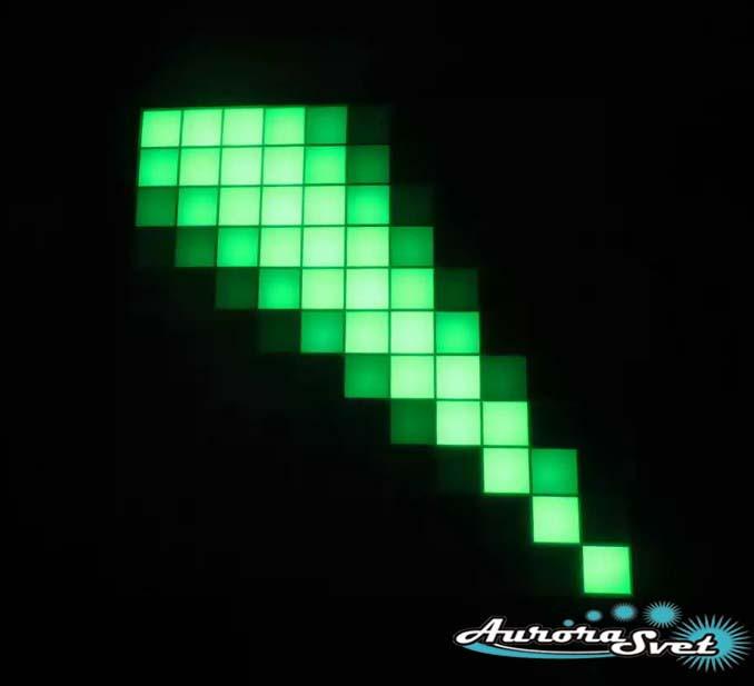 Светодиодная пиксельная панель напольная F-090-11*11-1-P