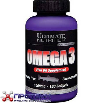 Omega 3 (180 softgels) Ultimate Nutrition