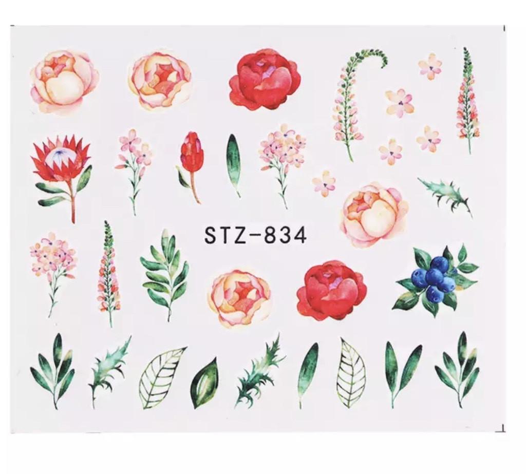 Слайд для дизайна ногтей STZ-834