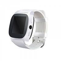 Сенсорные Smart Watch T8 смарт часы умные часы Белые