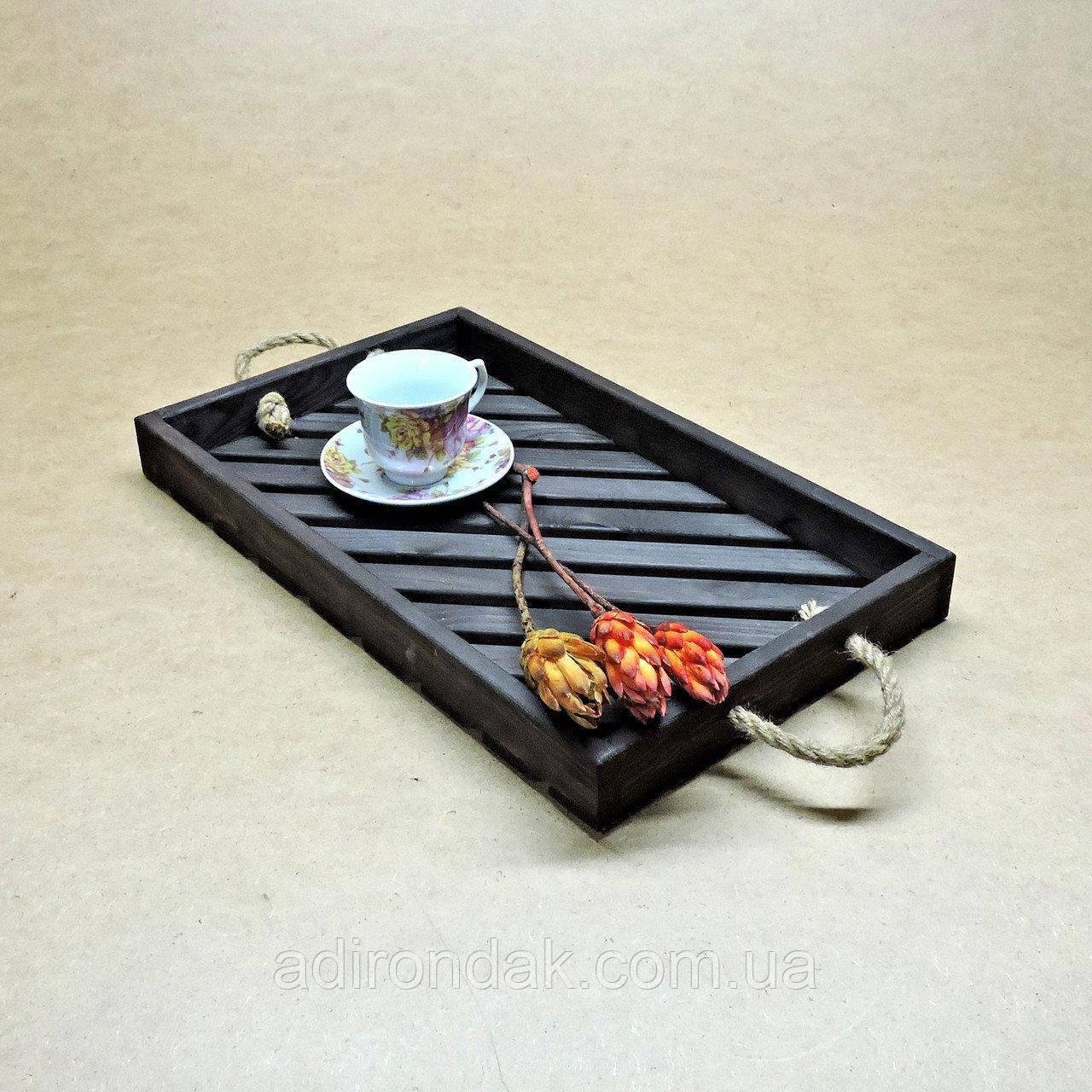 """Поднос деревянный """"Венге"""" для кухни"""