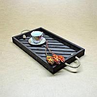 """Поднос деревянный """"Венге"""" для кухни, фото 1"""