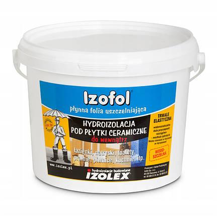 Мастика гидроизоляционная Izolex IZOFOL 7 кг, фото 2
