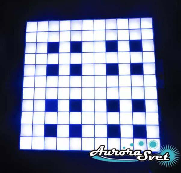 Светодиодная пиксельная панель напольная F-083-12*12-1-C