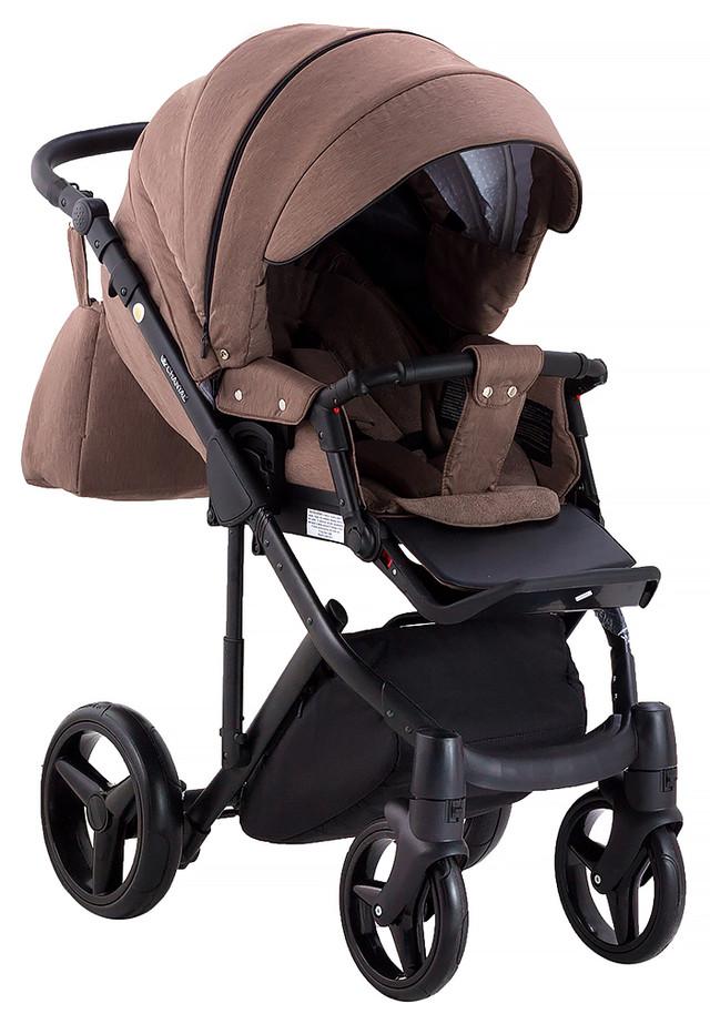 Дитяча універсальна коляска 2 в 1 Adamex Luciano jeans Q317 (Адамекс Лусіано, Польща)