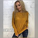 Стильный свитер с красивым узором (в расцветках), фото 3