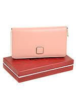 Женский кожаный кошелек BRETTON W7322 pink