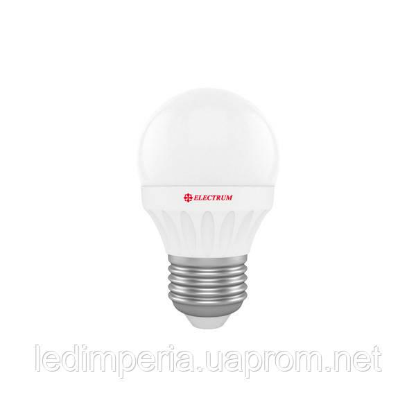 ELECTRUM LB-8 3W E27 4000K АЛЮМОПЛАСТ. КОРП. A-LB-0534