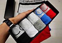 Набор Calvin Klein Steel мужские трусы 5 шт Нижнее белье Келвин Кляйн кляин 5 шт