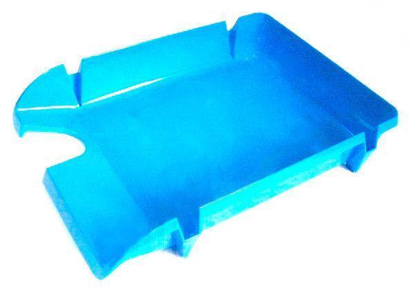 Лоток для паперів горизонтальний синій