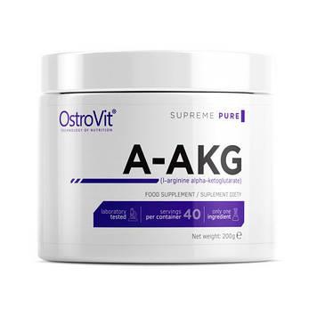 Предтренировочный комплекс A-AKG (200 g, pure) OstroVit