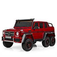 Двухместный детский электромобиль M 3971 EBLRS-3, Mercedes, красный