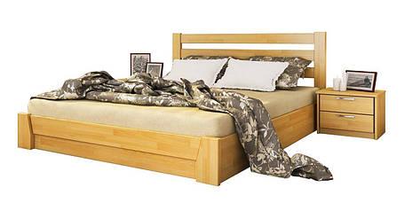 Ліжко Селена 120х190 Бук Щит 102 (Естелла-ТМ), фото 2