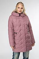 Куртка женская демисезонная в 3х цветах АР Ванкувер в размерах 50-60, фото 1