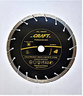 044 Диск Craft відрізний алмазний segment 180*22,2*1,8*8мм бетону, тротуарної плитки, піщаника