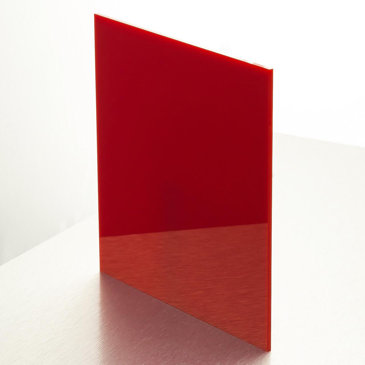 Акрил Plexima XT Diffuser, красный, 3 мм