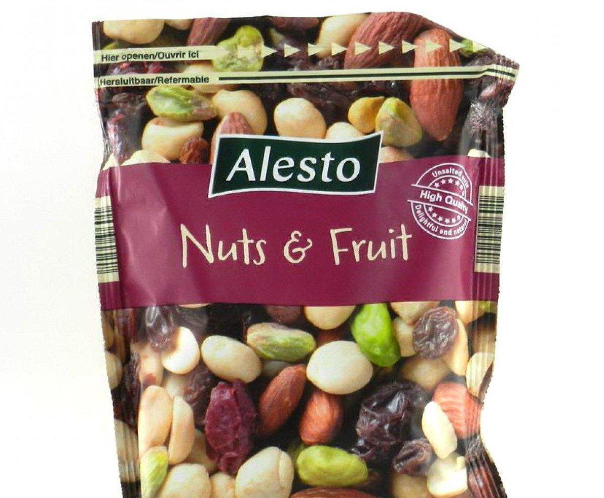 Мікс горіхів та сухофруків Alesto Nuts & Fruit