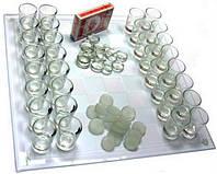 Алко-игра 3 в 1 шахматы, шашки и колода карт