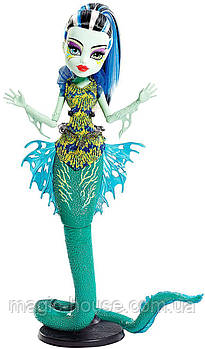 Monster High Great Scarrier Reef Ghoulfish FrankieStein Кукла Монстер Хай Френки Штейн Большой Скарьерный Риф