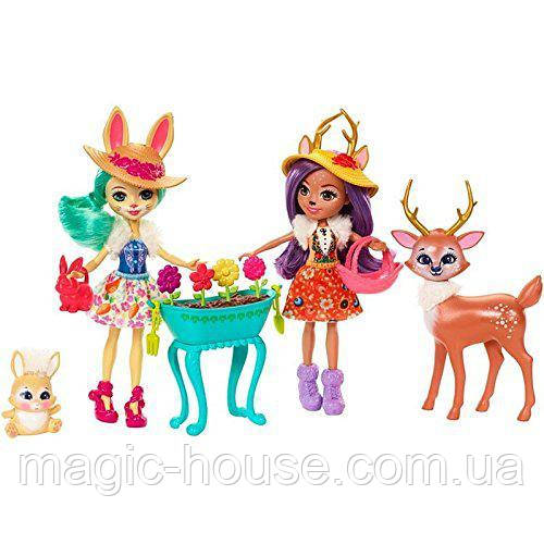 Игровой набор Волшебный сад Энчантималс Enchantimals Garden Magic Doll Set