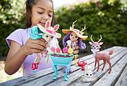 Игровой набор Волшебный сад Энчантималс Enchantimals Garden Magic Doll Set, фото 6