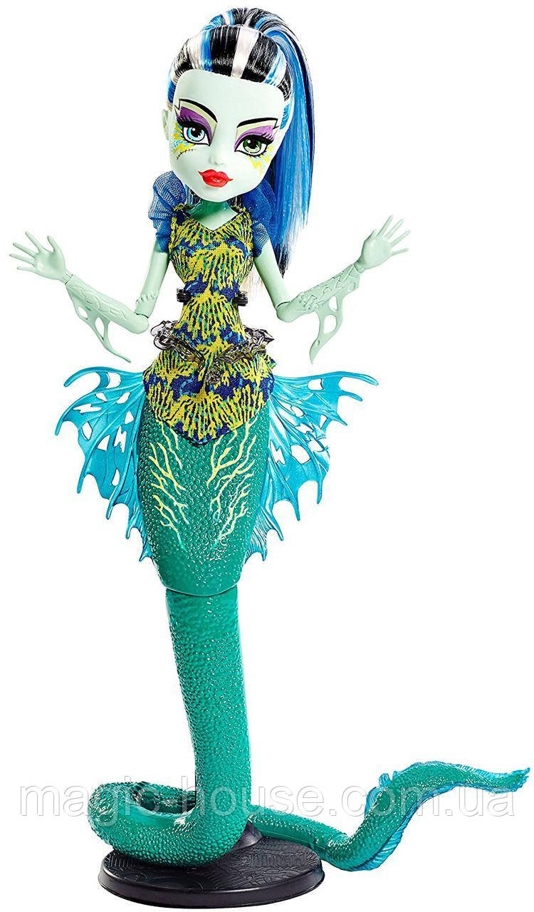Френкі Штейн Великий Скарьерный Риф Лялька Монстер Хай Monster High Great Scarrier Reef Ghoulfish Frankie Stein