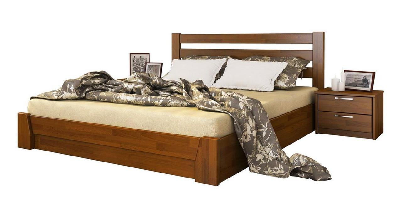 Кровать Селена 120х190 Бук Щит 103 (Эстелла-ТМ)