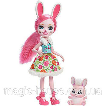 Кукла Энчантималс Бри Банни и зайка Твист Enchantimals Bree Bunny Doll
