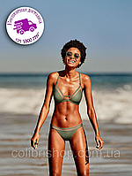 Купальник Mesh Triangle T-Back &  Mini Bikini  Victoria's Secret оригинал США