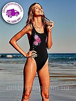 Купальник слитный Victoria's Secret PINK Embroidered High Leg One-Piece, фото 1
