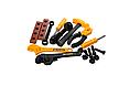 Дитячий набір інструментів, верстак — валіза — візок 50 предметів, 008-928, фото 4